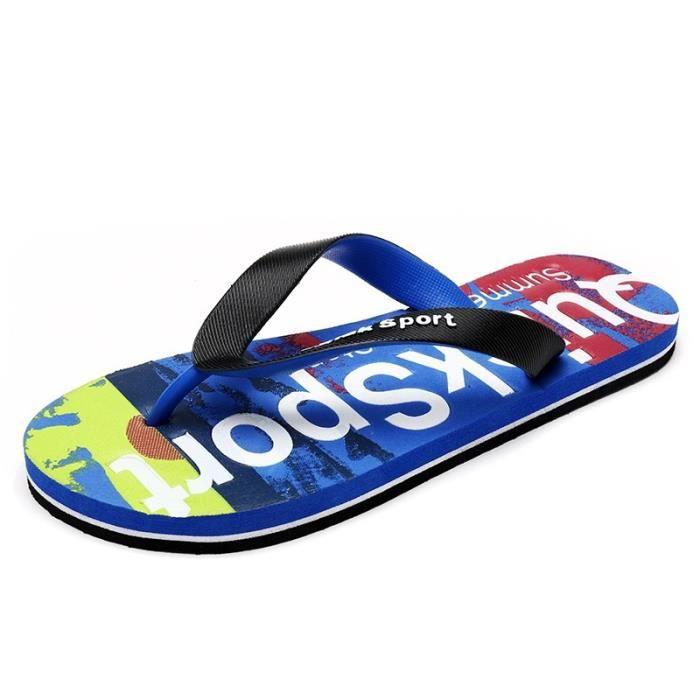 Mode britannique Hommes antidérapants Chaussures Sandales