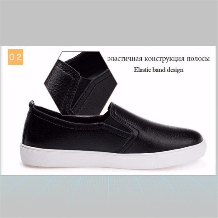 Loafer xz052noir36 Lkg Ete Ultra gris noir Femmes Chaussures Leger Blanc PRqppg