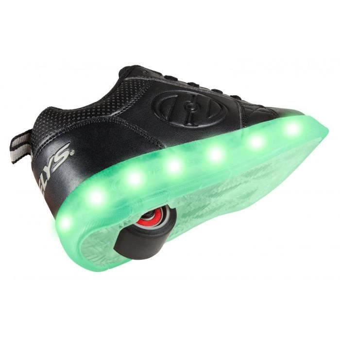 Heelys - Chaussures à Roulettes - LED Premium 1 Lo in Zwart (2018 model)-33