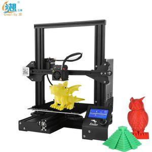 IMPRIMANTE 3D Creality 3D Ender-3 Imprimante 3D DIY haute précis