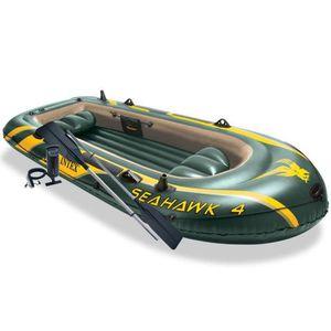 AVIRON Set bateau gonflable avec rames + pompe Seahawk 4