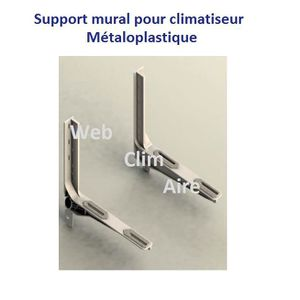 CLIMATISEUR support mural climatisation thermoplastique