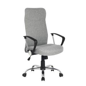 CHAISE DE BUREAU Chaise de bureau pivotante Grise - MYCO00768