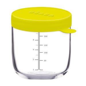 USTENSILES BÉBÉ Béaba Portion verre 250 ml néon