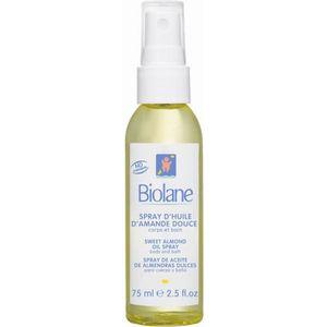 GEL - CRÈME DOUCHE BIOLANE Spray d'huile d'amande douce - 75 ml