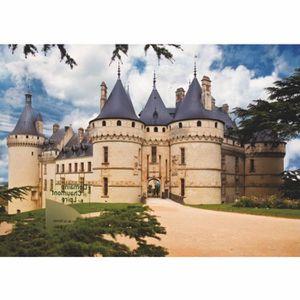 PUZZLE Puzzle 1000 pièces - Châteaux de France : Châte...