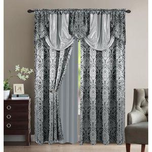 rideaux oriental achat vente rideaux oriental pas cher soldes d s le 10 janvier cdiscount. Black Bedroom Furniture Sets. Home Design Ideas