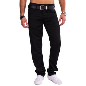 JEANS Mens brillant pantalon ELIJAH Coated style Denim J ... 720c1f739ec7