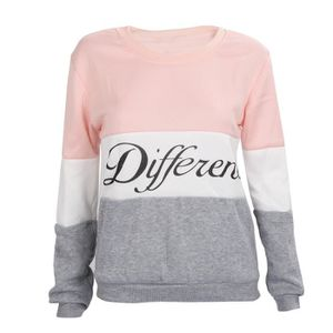 PULL SODIAL (R)Lettres imprimes differents Mix pull Lac