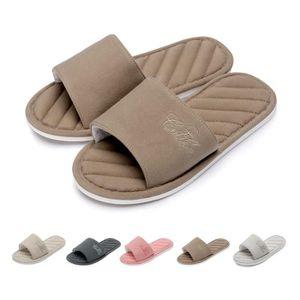 86f5d662699e7 CHAUSSON - PANTOUFLE pantoufles en coton à bout ouvert pour femmes   pa