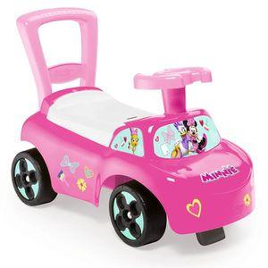 PORTEUR - POUSSEUR MINNIE Smoby Porteur Enfant Auto - Disney