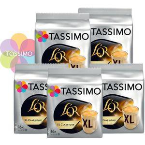 CAFÉ - CHICORÉE Offre Tassimo L'Or Espresso XL Classique (x80) U