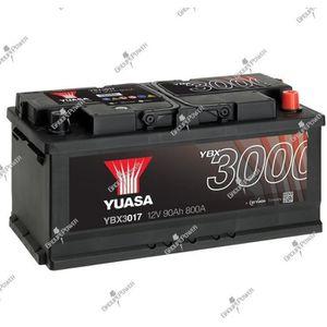 BATTERIE VÉHICULE Batterie auto, voiture YBX3017 12V 90Ah 740A Yuasa