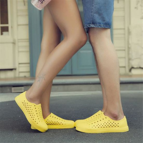 Sandale homme chaussures Slip-on Extravagant Grande Taille Confortable Antidérapant Antidérapant Antidérapant Sneakers Loisirs1 LZP Jaune Jaune - Achat / Vente slip-on 09942a