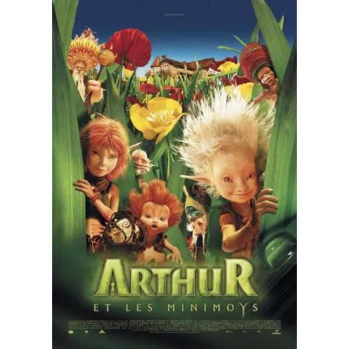 linge de lit arthur et les minimoys Arthur Et Les Minimoys Poster   Fleur Jaune, Pa   Achat / Vente  linge de lit arthur et les minimoys