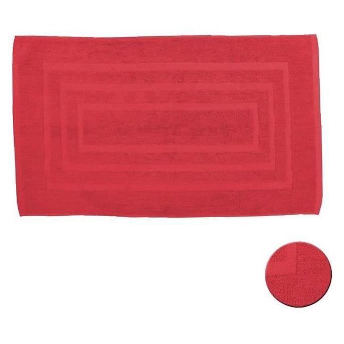 tapis de bain pomme d'amour 50x85 cm