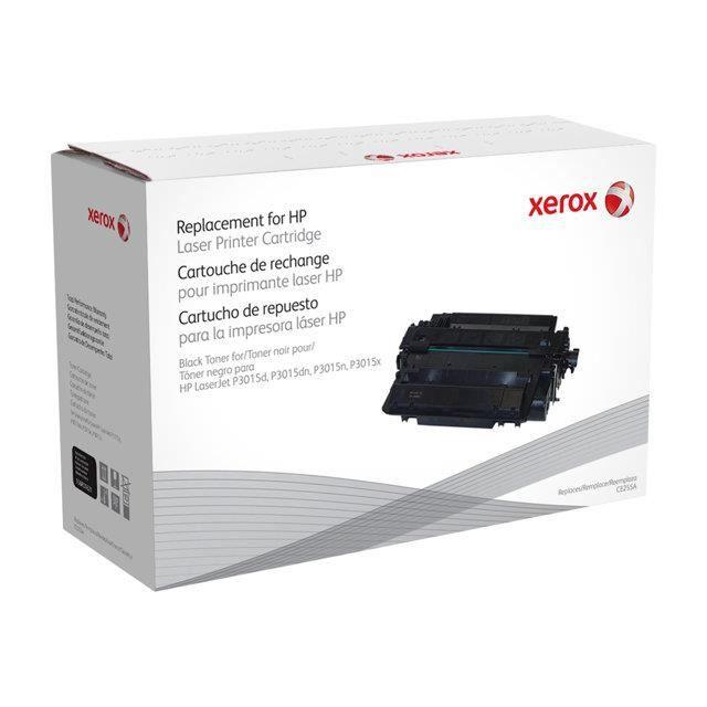 XEROX Cartouche de toner Equivalent HP CE255A - Pour  HP LJ P3015 series - Autonomie 6000 impressions