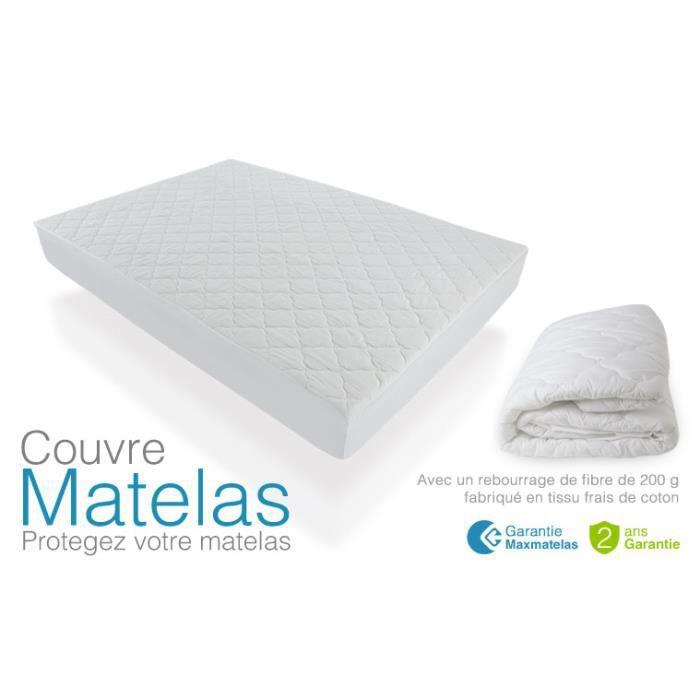 Couvre Matelas 140x200 - Achat / Vente protè