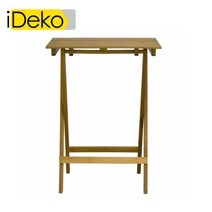 Table haute de jardin - Achat / Vente Table haute de jardin pas ...