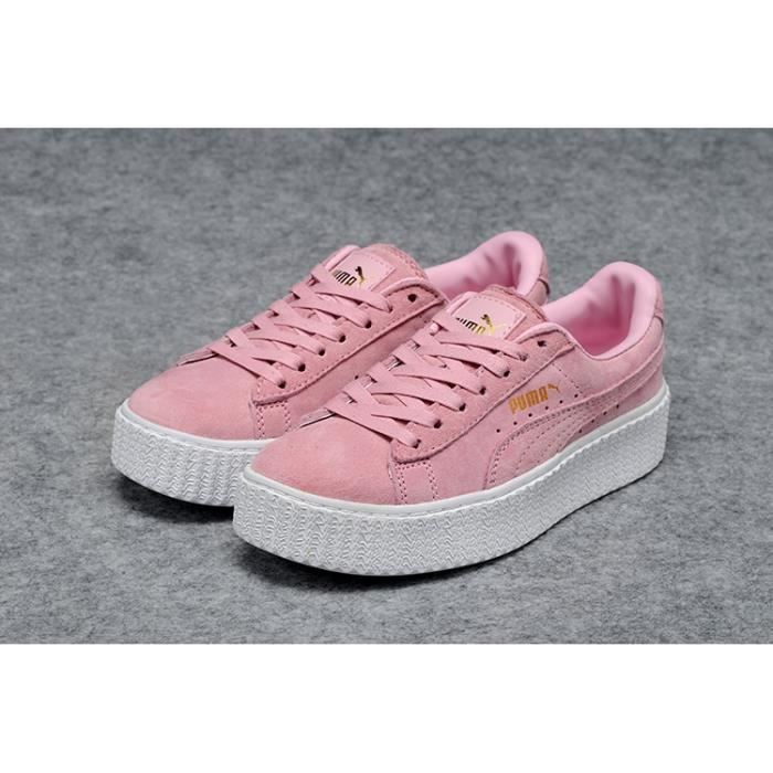 Femme By Rose Acheter Creepers Puma Rihanna Suede Chaussures