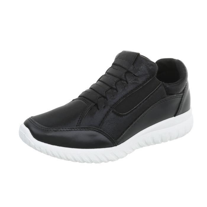 Des Sneakers Chaussures Baskets Noir 36 Femme SwqgAP5xqt