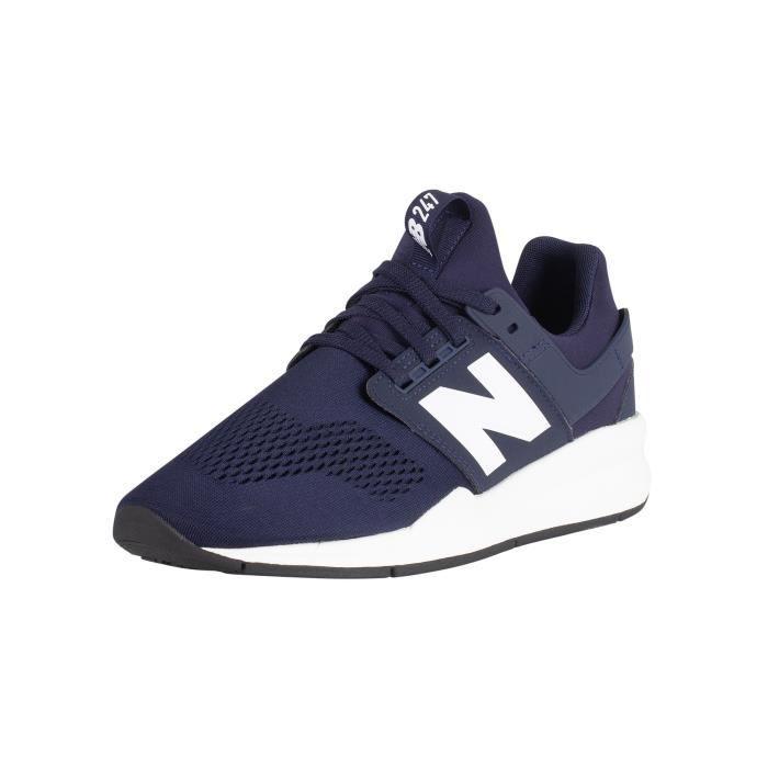 new balance 247 cuir bleu