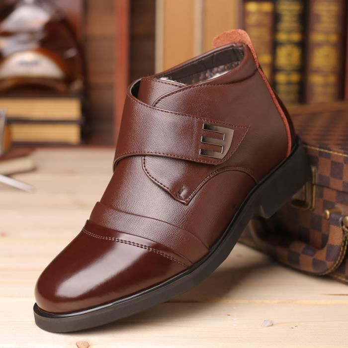 Hommes Bottes Chaussures Cuir Hommes Cuir w0TZqfBHx