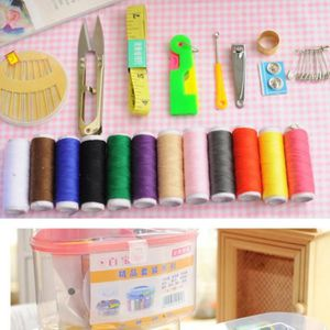 Boite de couture aiguilles et fil achat vente pas cher for Rangement fil couture