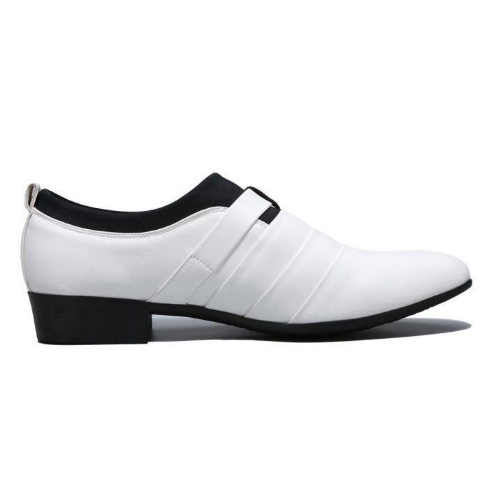 Slip On Tuxedo Oxford Monk Bracelet Chaussures Robe DKDGY Taille-39 1-2 xhqmeYABA