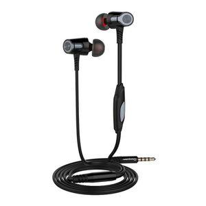 CASQUE - ÉCOUTEURS EH360 Universal 3.5mm In-Ear stéréo écouteurs écou