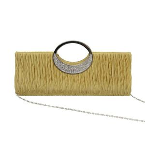 Mini Sac a Main Pochette Style Portefeuille Glitter pr Soiree Mariage Femme Fille 3couleur 7ZtAIi