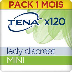 FUITES URINAIRES Tena Lady Discreet Mini Serviettes pour Fuites Uri