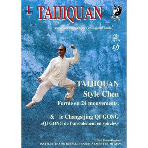 SOMMIER TAIJIQUAN style Chen forme 24.