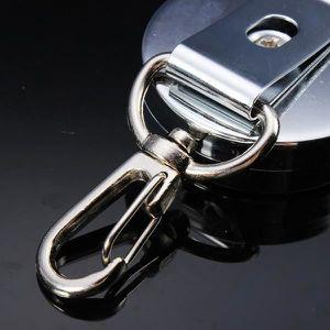 PORTE-CLÉS 4 cm Ceinture à outils rétractable Porte-clés Chaî