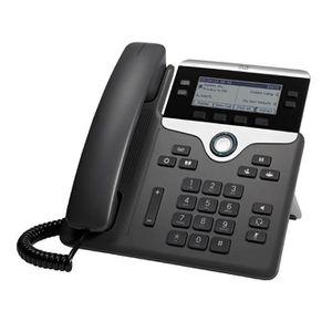 Téléphone fixe Cisco 7841, LCD, 396 x 162 pixels, 8,89 cm (3.5