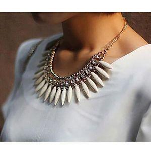 SAUTOIR ET COLLIER femmes alliage de déclaration de luxe colliers et bbb6f5ec6689