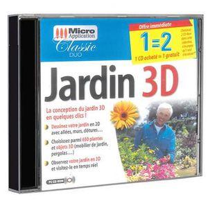 BUREAUTIQUE Micro Application - Jardin 3D