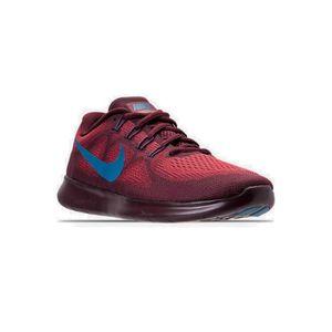online store c07e8 4a4a5 CHAUSSURES DE RUNNING Nike Men's Free Rn 2017 Running Shoe, Red WPKRB Ta