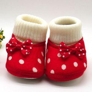 BOTTE Fille mignonne nouveau-né chaud Toddler bowknot ch