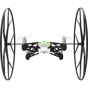 DRONE Parrot MiniDrones Rolling Spider Blanc Drone Conne
