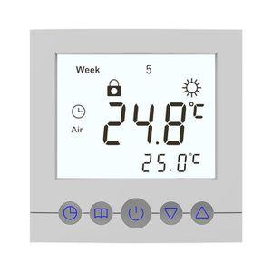 Capteur de Température XCSOURCE Thermostat C16H 16A Programmable LCD Gran