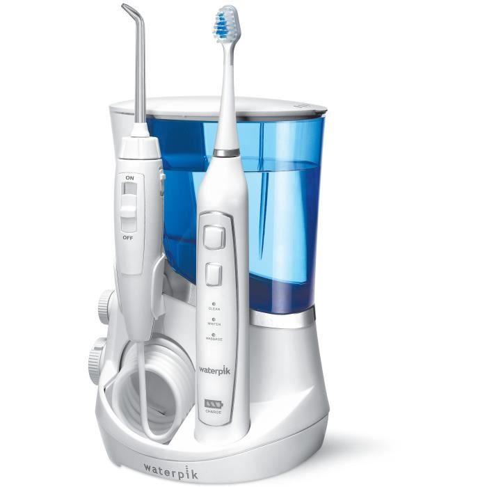 WATERPIK WP 861 sonic Combiné hydropulseur et brosse à dent