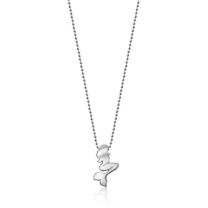 Alex Woo Petite sirène villes en argent sterling Pendentif Collier de longueur 40,64 cm 1Z8P0R