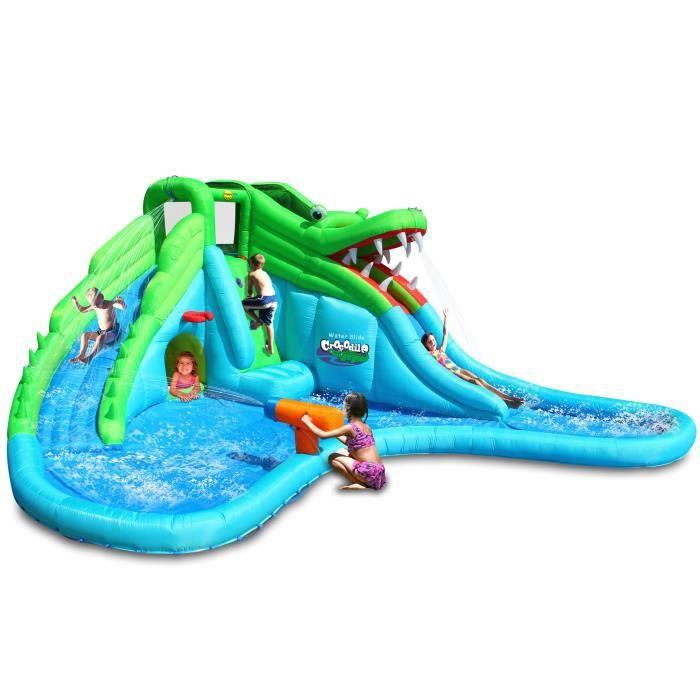Belle AIRE DE JEUX GONFLABLE HAPPY HOP Piscine Aire De Jeux Gonflable Aquatique