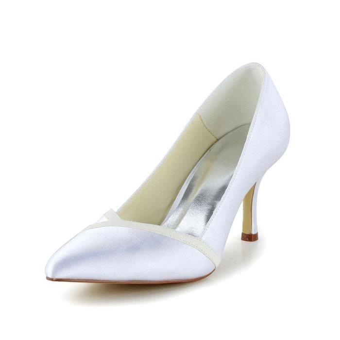 Jia Jia Wedding A3126 chaussures de mariée mariage Escarpins pour femme