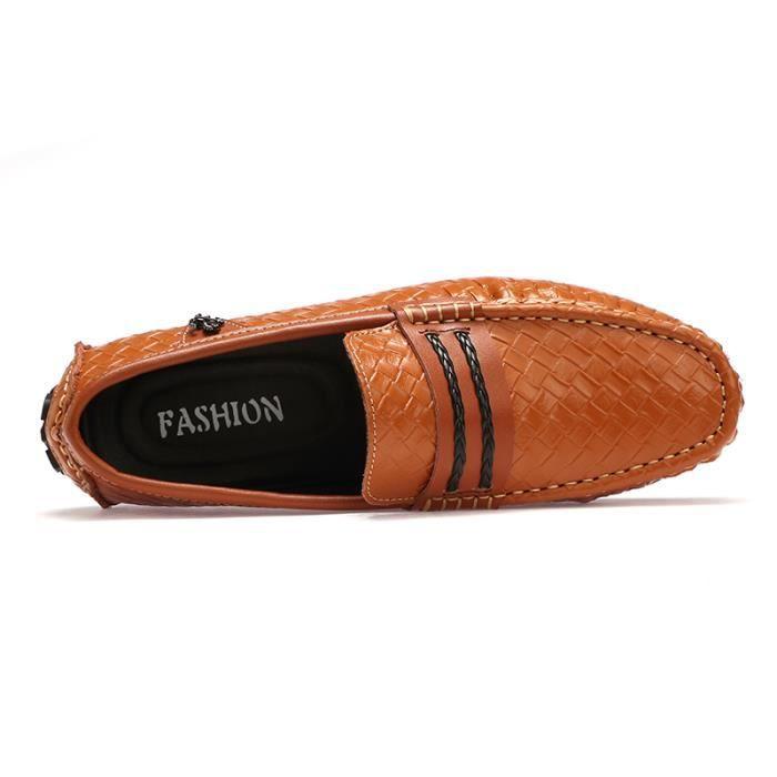 Chaussures Homme Bateau en daim Chaussures de ville Chaussures plates Confortables et légères