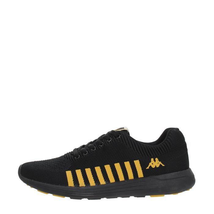KAPPA Sneakers Homme BLACK/GOLD, 40