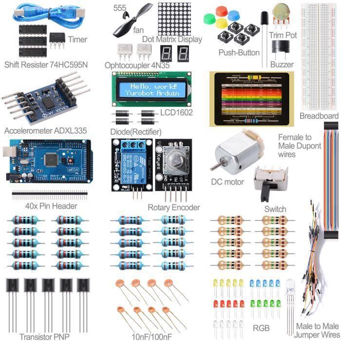 arduino kit debutant