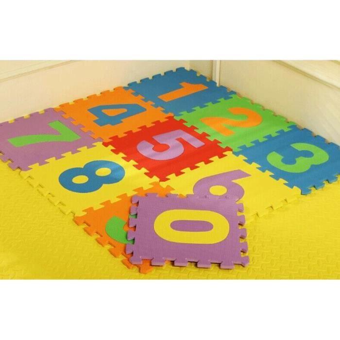 puzzle enfant chiffres achat vente jeux et jouets pas chers. Black Bedroom Furniture Sets. Home Design Ideas