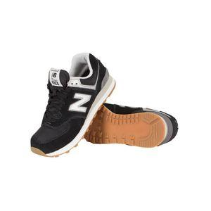Homme New Balance formateurs 574 Noir TX5Rw5qx